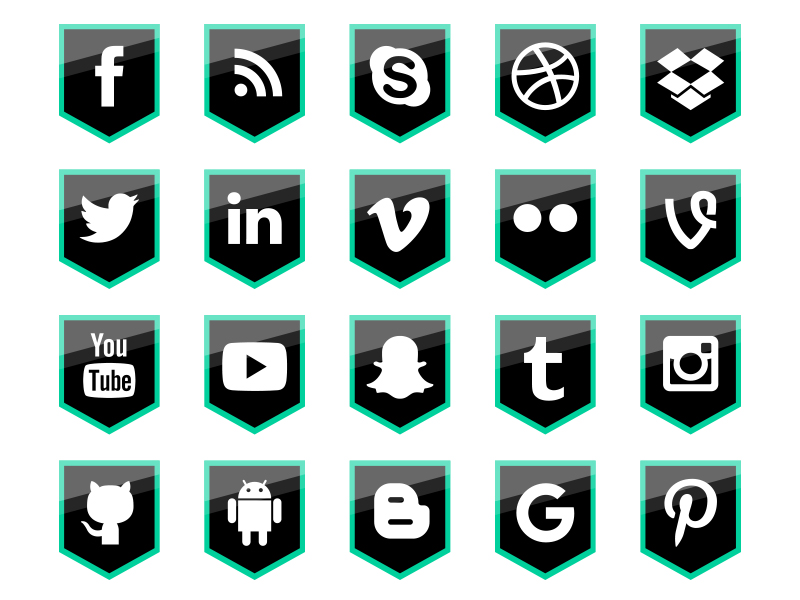 50-FREE-Social-Media-Shield-Icons