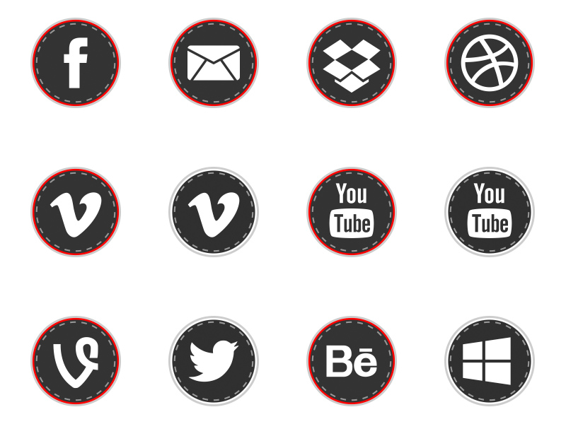 Free-Round-Social-Media-Stiches-Icons-by-Alfredo