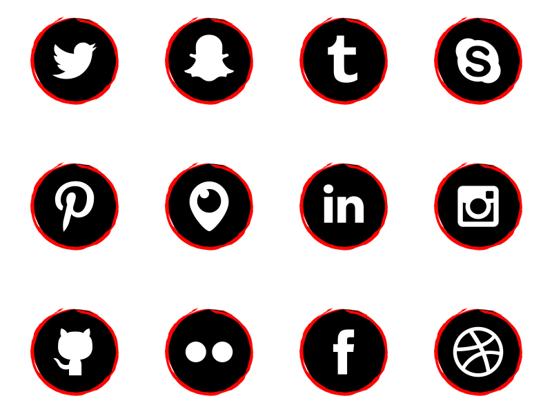Free-Social-Media-Icons-Art-Style-by-Alfredo