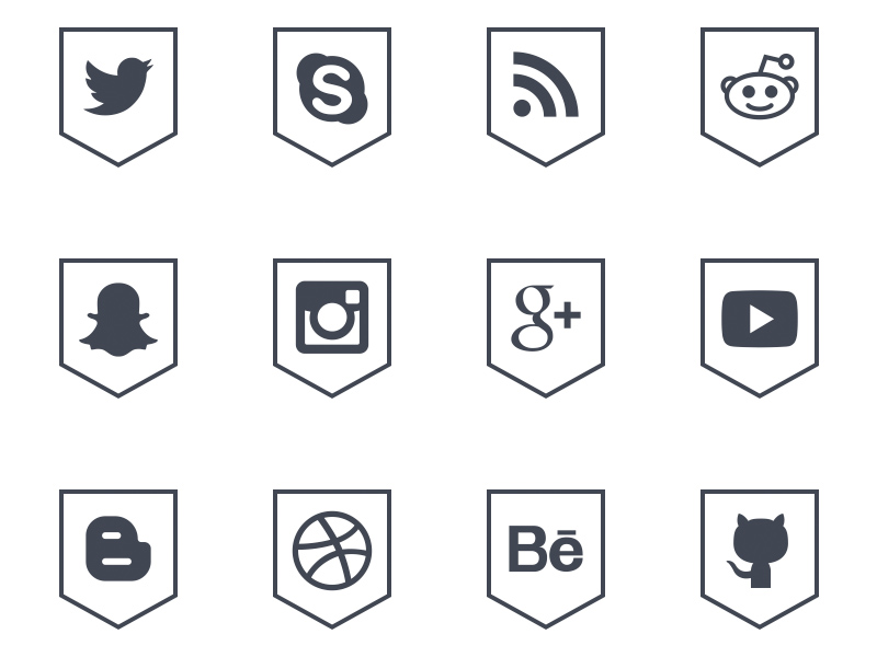 Free-Social-Media-Outline-Shield-Icons-by-Alfredo