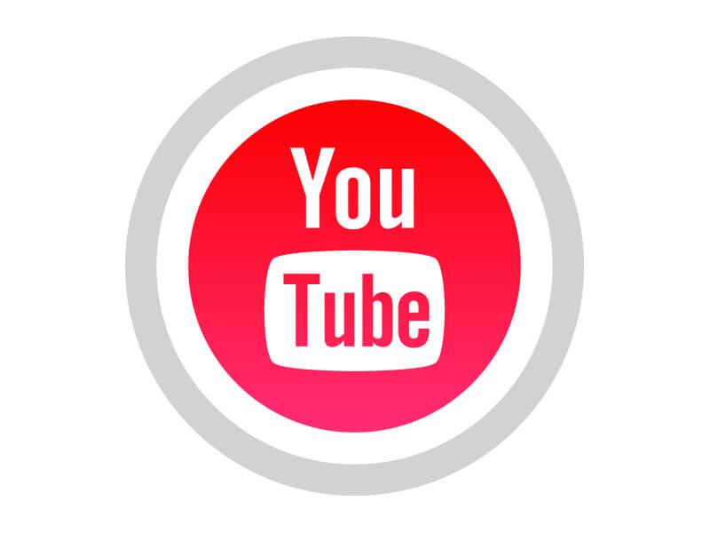 0f141f3f737 YouTube Free Black White Social Media Icons Download PNG SVG JPG ...